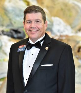 Mett Kinsey, President Elect of Toastmasters International